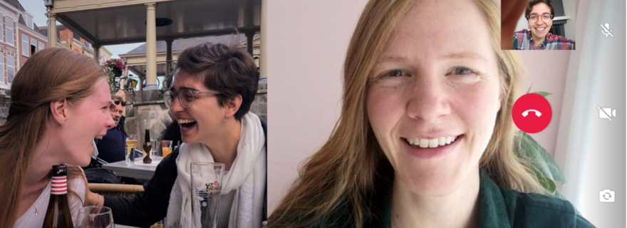 Can video calls with friends replace real social encounters?