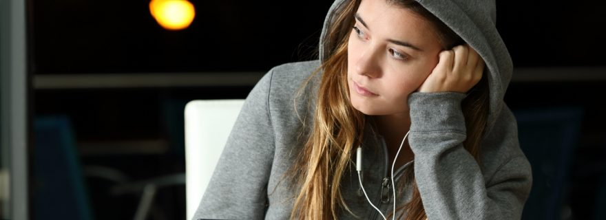 Blessing or Curse? Staying social when you're a socially anxious teen during Covid-19