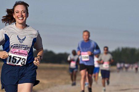 Can your social circle motivate you to run a marathon?