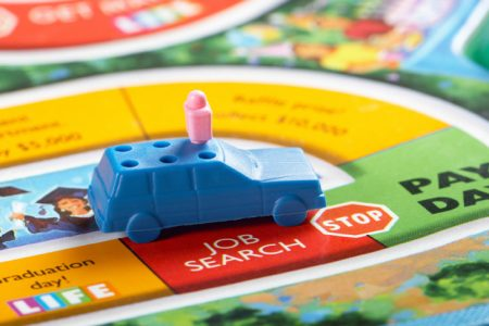 Decision making in the game of life